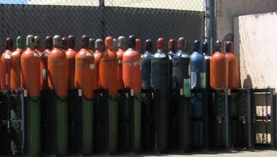 PNNL Cylinder storage
