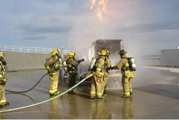 fire exposure photo