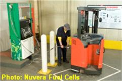Photo - Fueling a forklift