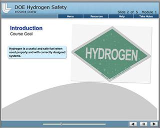DOE Laboratory Hydrogen Safety Training for Researchers Image