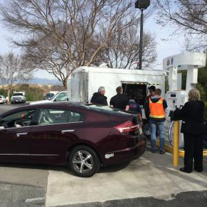 HyStEP side-by-side with Honda Clarity